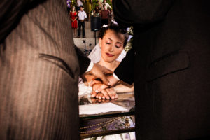A foto do casamento que me fez sorrir